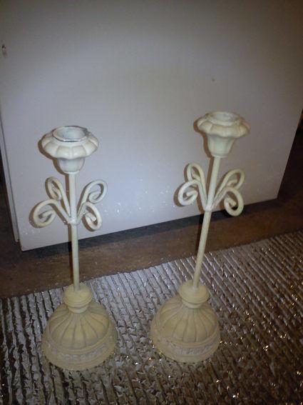 Bougeoirs en décoration de table de mariage pas cher d'occasion en 2012
