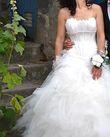 Robe de mariée bustier + jupe longue - Occasion du Mariage