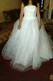 Robe blanche bustier - Occasion du Mariage