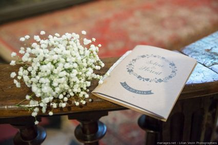 Livrets de cérémonie de mariage - Rhône