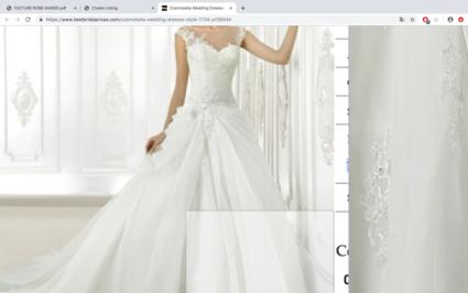 Robe de mariée - Loire Atlantique
