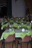 25 bougeoirs / photophores pour la décoration de salle de mariage pas cher