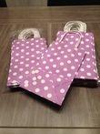 23 sacs en papier cartonné violet à poids - Occasion du Mariage