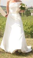Robe de mariée Hervé mariage modèle Lune couture Collection 2012 occasion