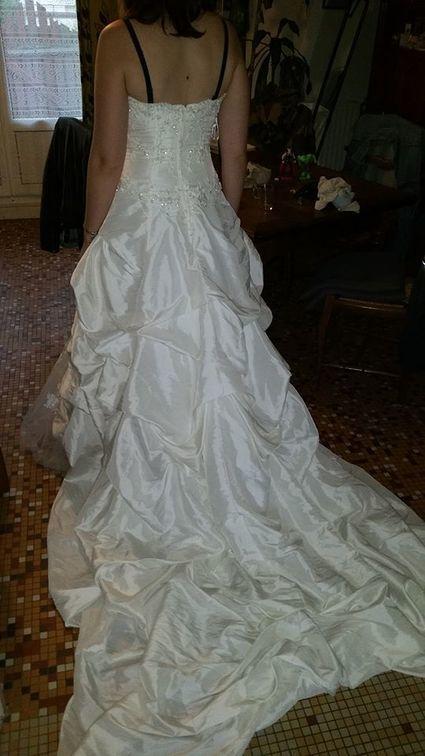 Robe point mariage Turkana - Loir et Cher