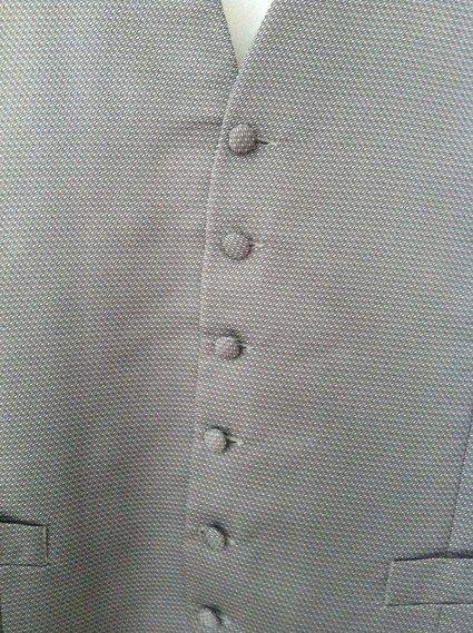 Gilet costume de marié Lanvin couleur gris d'occasion