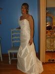 robe de mariée comobella t.38 ivoire - Occasion du Mariage