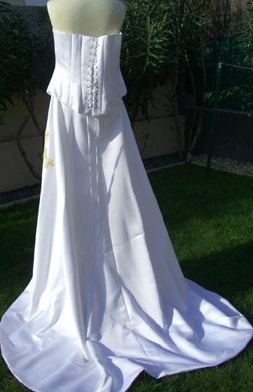 Robe de mariée avec bustier pas cher d'occasion 2012 - Languedoc Roussillon - Hérault - Occasion du Mariage