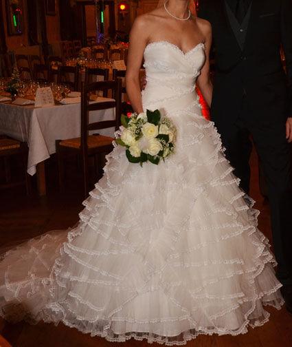 Robe de mariée pas cher collection Pronovias Pampa 2012 - Occasion du Mariage