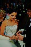 Robe de mariée d'occasion Justin Alexander + sur-jupe en tulle + longue traîne