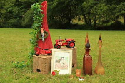 Scooter en Fer r pour la décoration de votre mariage en 2013