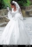 Robe de Mariée Miss Kelly d'occasion manches longues et traîne