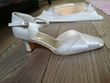 Chaussures mariée ivoire taille 38 - Occasion du Mariage