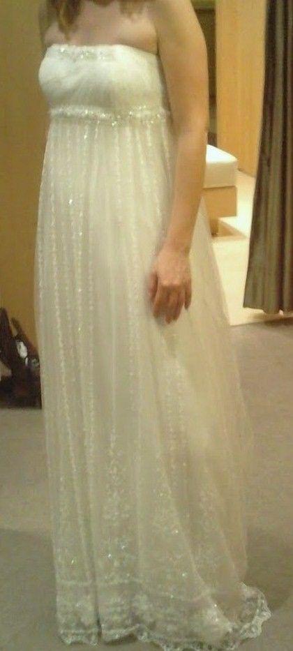 Robe de mariée Pronovias Helio - en très bon état pas cher d ...
