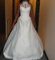 Robe de mariée dancerette ivoire + jupon et guêpière- Occasion du Mariage