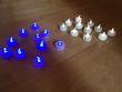 Bougies leds blanches et bleues  - Occasion du Mariage