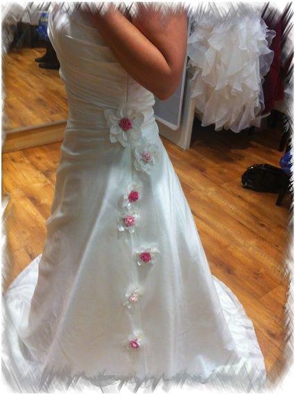 Robe de mariée Annie Couture de l'Empire du Mariage de Lille
