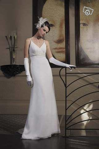 Robe de mariée de la marque Ligne floue achetée chez COMPLICITE