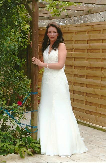 Robe de mariée chic et moderne pas cher - Occasion du Mariage