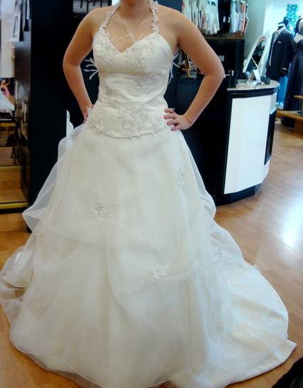 Robe de mariée Anita Jakobson modèle cleverland, bustier et jupe