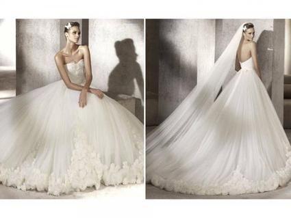 Robe de mariée d'occasion Pronovias Manuel Mota modèle Prestigio - Occasion du Mariage