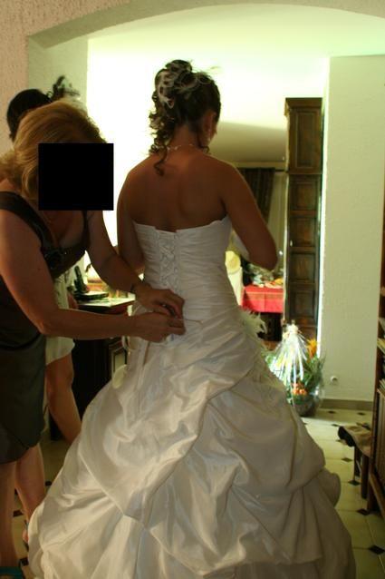 Robe mariée 2012 Egalntine taille 38  avec jupon