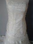 Robe de mariée pas cher ivoire très tendance 2012 - Occasion du mariage