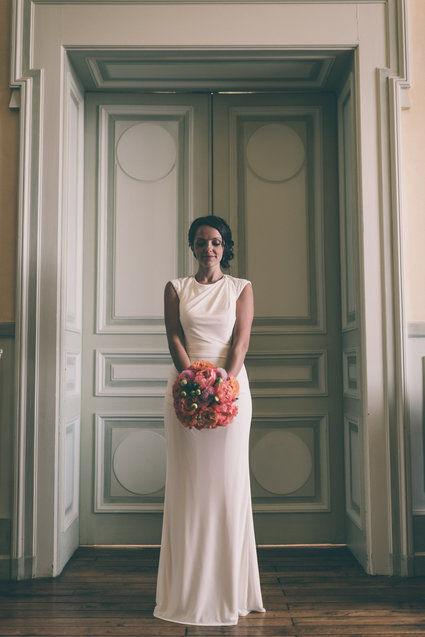 Robe de mariée designer dos nu - Vienne (Haute)