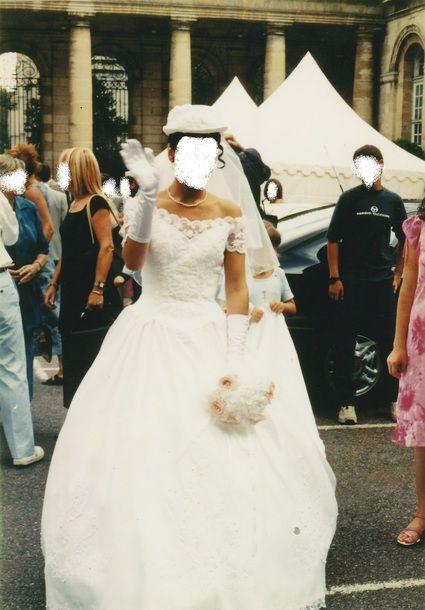 Robe de mariée duchesse + accessoires Point Mariage d'occasion