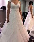 Robe de mariée Pronuptia dos échancré et bretelles - Occasion du Mariage