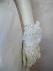 Robe de mariée de styliste en dentelle de Calais d'occasion