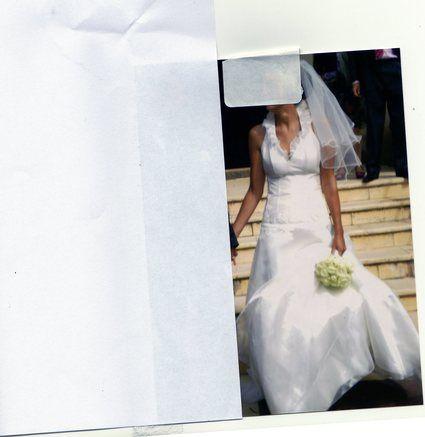 Robe de mariée pas cher en soie + accessoires 2012 - Occasion du Mariage