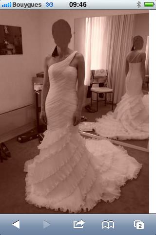 Robe Mariée Pronovias modèle Gaudi T36 pas cher - Occasion du Mariage