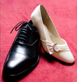 Chaussures de mariée crème avec boucle - Occasion du Mariage