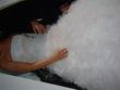 Robe de mariée rose clair T38 pas cher - Occasion du Mariage 2012