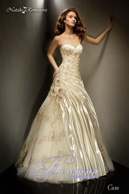 Robe de mari e de designer russe natalia romanova 2013 for Concepteur de robe de mariage russe