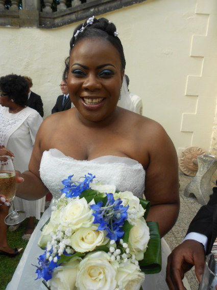 Robe de mariée grande taille d'occasion en tulle et dentelle