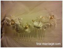 Barrettes de cheveux de mariée pas cher en 2012 - Occasion du Mariage