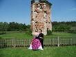 robe de mariée Annie Couture blanche et fuchsia - Occasion du Mariage