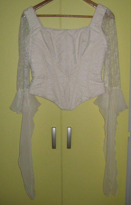 Robe de mariée Bella Paris écru taille 38 d'occasion