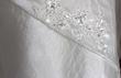 robe brodée - taffetas nacre - Occasion du Mariage