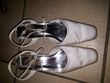 Chaussures blanches T38 - Occasion du Mariage
