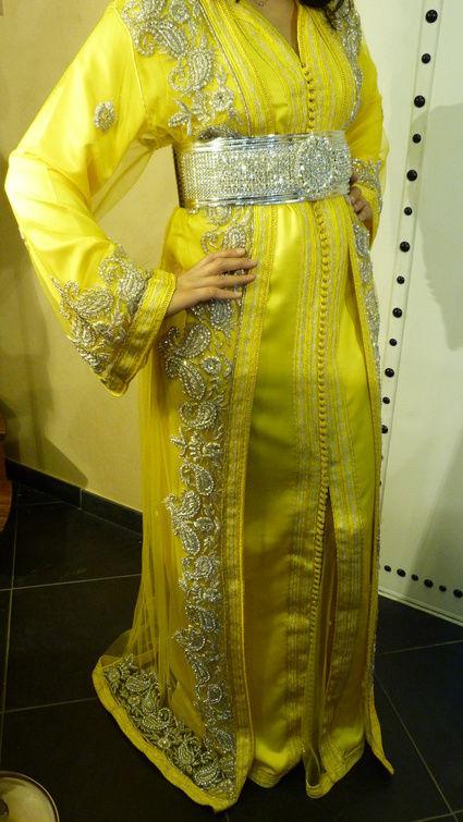Caftan mariée robe orientale d'occasion