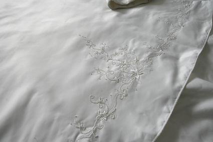 Robe de mariée bustier perlé + jupe et légère traine - Occasion du Mariage