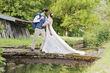 Robe longue en Dentelle Bohême et Glamour - Occasion du Mariage