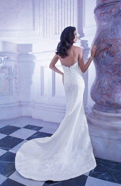 Robe de mariée Demetrios collection 2014 avec le voile