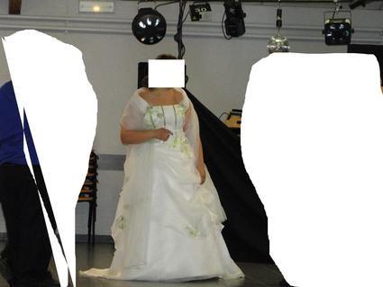 Robe de mariée d'occasion Annie Couture 2015 taille 48 - Rhône
