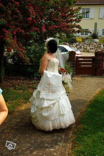 Robe de mariée Pronuptia Belle féérie et accessoires d'occasion