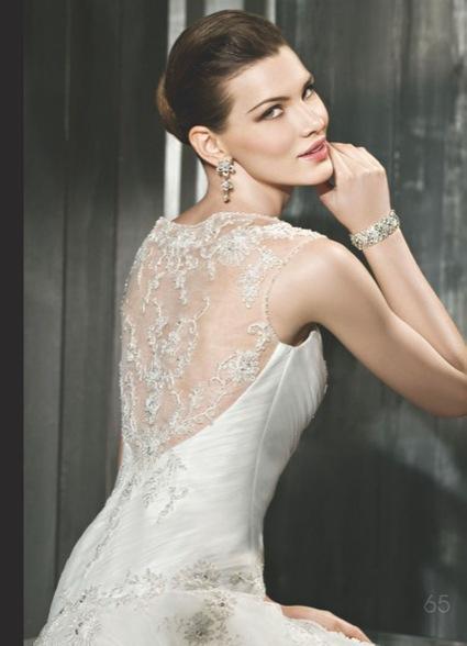 Robe de Mariée d'occasion Cosmobella 2012 référence 7524€