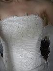 Robe de mariée créatrice Loanne avec jupon d'occasion